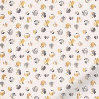 Indigo Circles Yellow