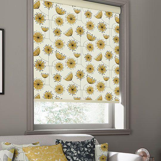 Dandelion Mobile Sunflower Yellow MissPrint Blackout